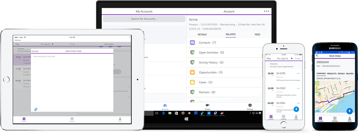 Axsy | Offline-first mobile apps for Salesforce